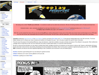 ar.c64.org screenshot