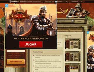 ar.gladiatus.com screenshot