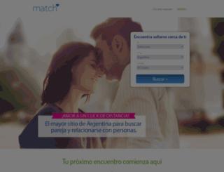 ar.match.com screenshot