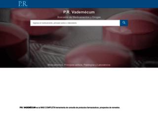 ar.prvademecum.com screenshot