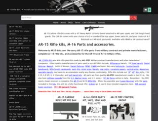 ar15-kits.com screenshot