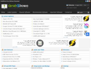 arab4down.com screenshot