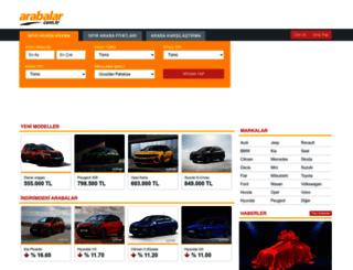 arabalar.com.tr screenshot