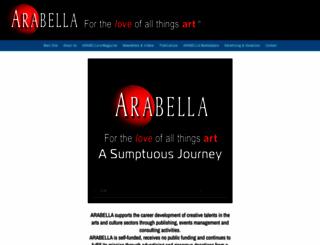 arabelladesign.com screenshot