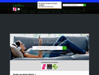 arabellaxmas.radio.de screenshot
