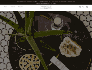 arabesquestudios.com screenshot