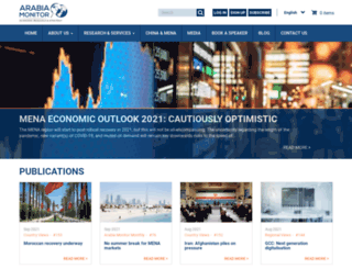 arabiamonitor.com screenshot