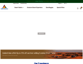arabian-adventures.com screenshot