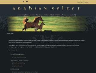 arabian-select.com screenshot