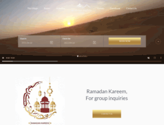 arabiannightsvillage.com screenshot