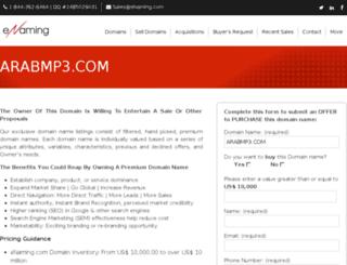 arabmp3.com screenshot