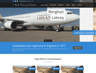 arabtours.co.uk screenshot