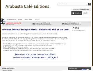 arabustacafe-editions.com screenshot