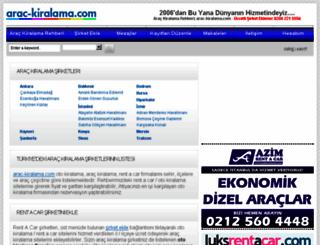 arac-kiralama.com screenshot