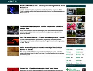 arafuru.com screenshot