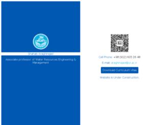 araghinejad.com screenshot