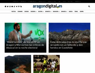 aragondigital.es screenshot