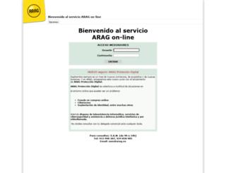 aragonline.net screenshot