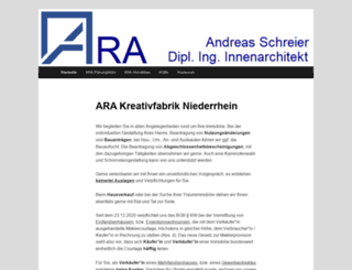 arakreativ.de screenshot