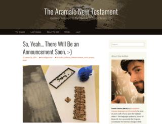 aramaicdesigns.blogspot.com screenshot