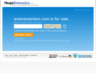 aramamerkezi.com screenshot