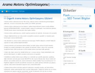aramaoptimizasyonu.com screenshot