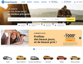 aramisauto.com screenshot