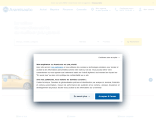 aramisauto.fr screenshot