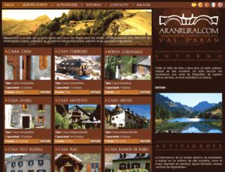 aranrural.com screenshot