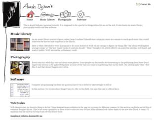 arash.dejkam.com screenshot