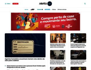 aratuonline.com.br screenshot