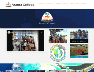 araura.edu.ck screenshot