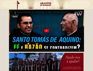 arautos.org screenshot