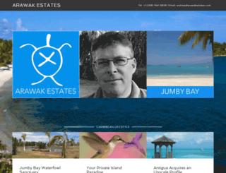 arawakestates.com screenshot