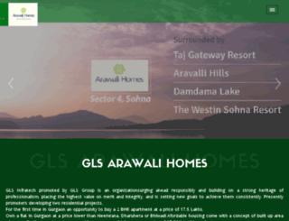 arawalihomessohna.in screenshot