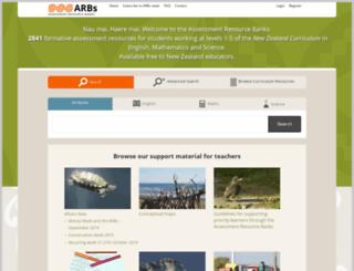 arb.nzcer.org.nz screenshot