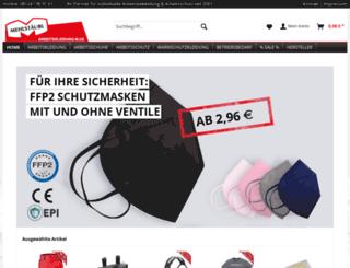 arbeitskleidung-m.de screenshot