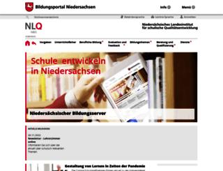 arbeitsschutz.nibis.de screenshot
