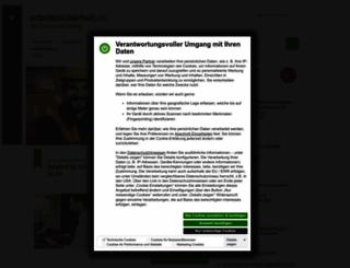 arbeitssicherheit.de screenshot