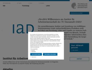 arbeitswissenschaft.de screenshot