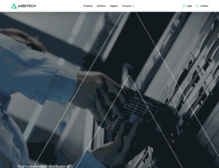arbitech.com screenshot