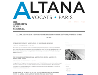 arbitrationnewsaltana.wordpress.com screenshot