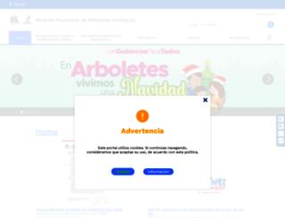 arboletes-antioquia.gov.co screenshot