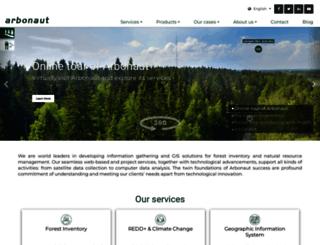 arbonaut.com screenshot
