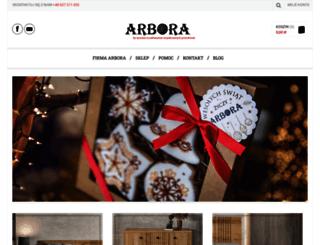 arbora.com.pl screenshot