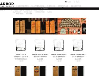 arborcollectiveessentials.com screenshot