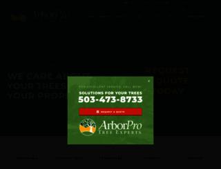 arborpronw.com screenshot