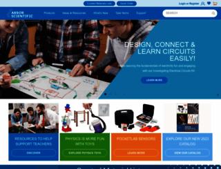 arborsci.com screenshot