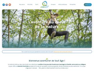 arbreenciel-aventure.com screenshot