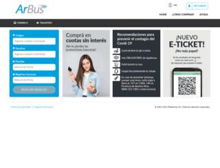 arbus.plataforma10.com screenshot